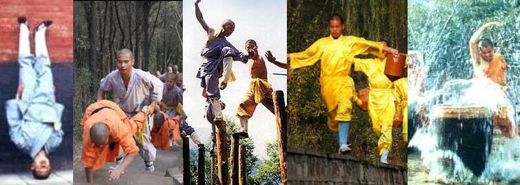 Shaolin kung fu training mothods