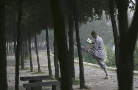 Shaolin monks daily routine