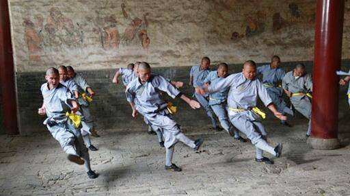 Shaolin monks kung fu history