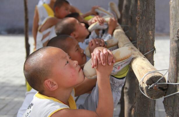 Shaolin monks training methods