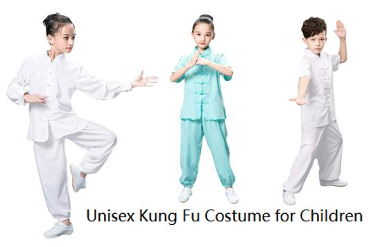 Best Selling Unisex ZooBoo Traditional Martial Arts Uniform for Kids